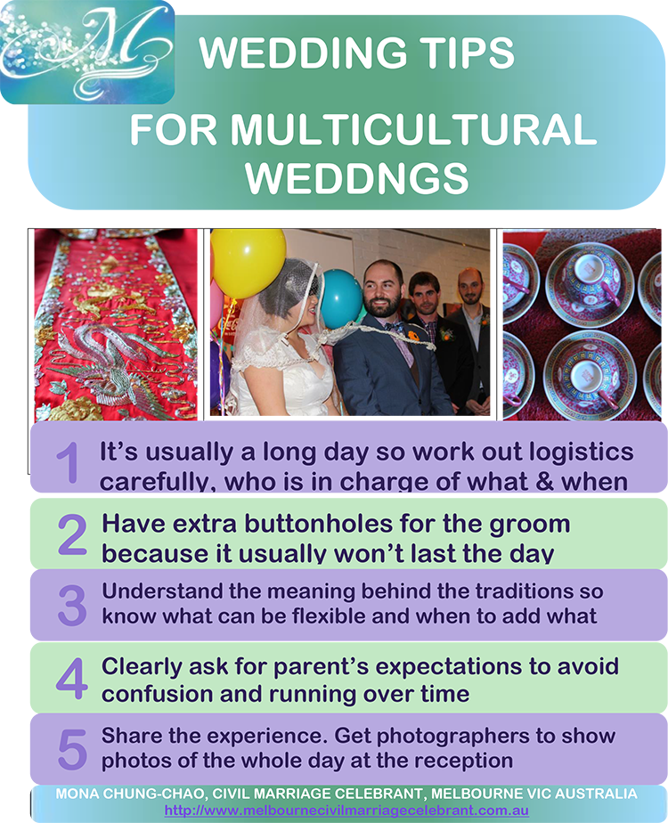 For Multicultural Weddings