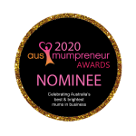Aus Mumpreneur Awards Nominee